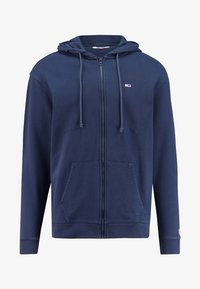 Tommy Jeans - CLASSICS ZIPTHROUGH - Zip-up hoodie - marine - 0