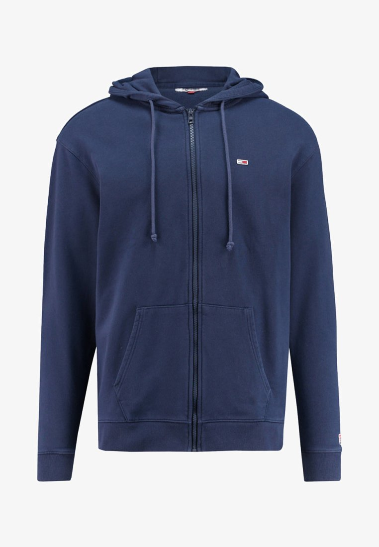 Tommy Jeans - CLASSICS ZIPTHROUGH - Zip-up hoodie - marine