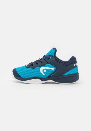 SPRINT 3.0 CARPET JUNIOR UNISEX - Multicourt tennis shoes - ocean/white