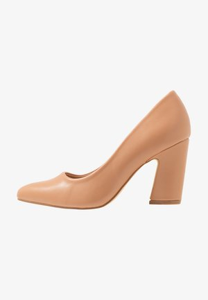 WIDE FIT - High heels - beige