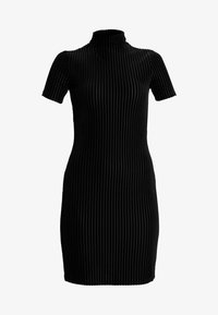 Noisy May Petite - NMNONA MINI DRESS - Shift dress - black - 5