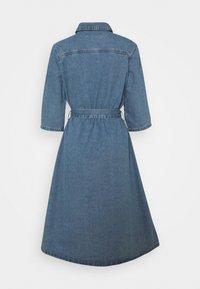 JDY - JDYATHENA BELT DRESS - Denim dress - light blue denim - 1
