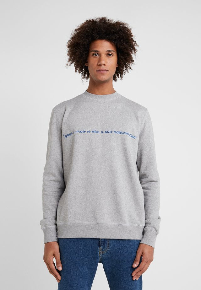 YOUR EMAIL - Sweatshirt - grey