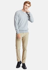 Timberland - WILLIAMS RIVER - Jumper - medium grey heather - 1