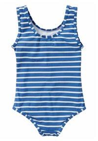 Boden - MIT APPLIKATION - Swimsuit - elisabethanisches blau, eiscreme - 1