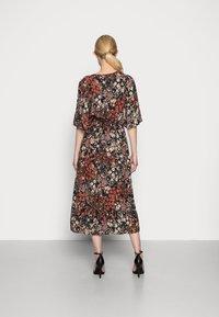 Esprit Collection - FLOWER DRESS - Shirt dress - black - 2