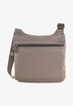 Across body bag - sepia brown