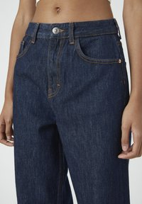 PULL&BEAR - Jeansy Straight Leg - dark blue - 5