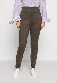 Esprit - Leggings - Trousers - khaki green - 0