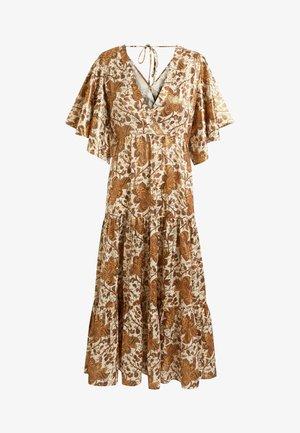 Maxi dress - rose gold coloured