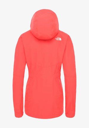 FLEECEJACKE HIKESTELLER W - Fleece jacket - cayenne red