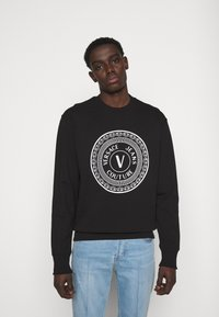 Versace Jeans Couture - FELPA  - Felpa - black - 0