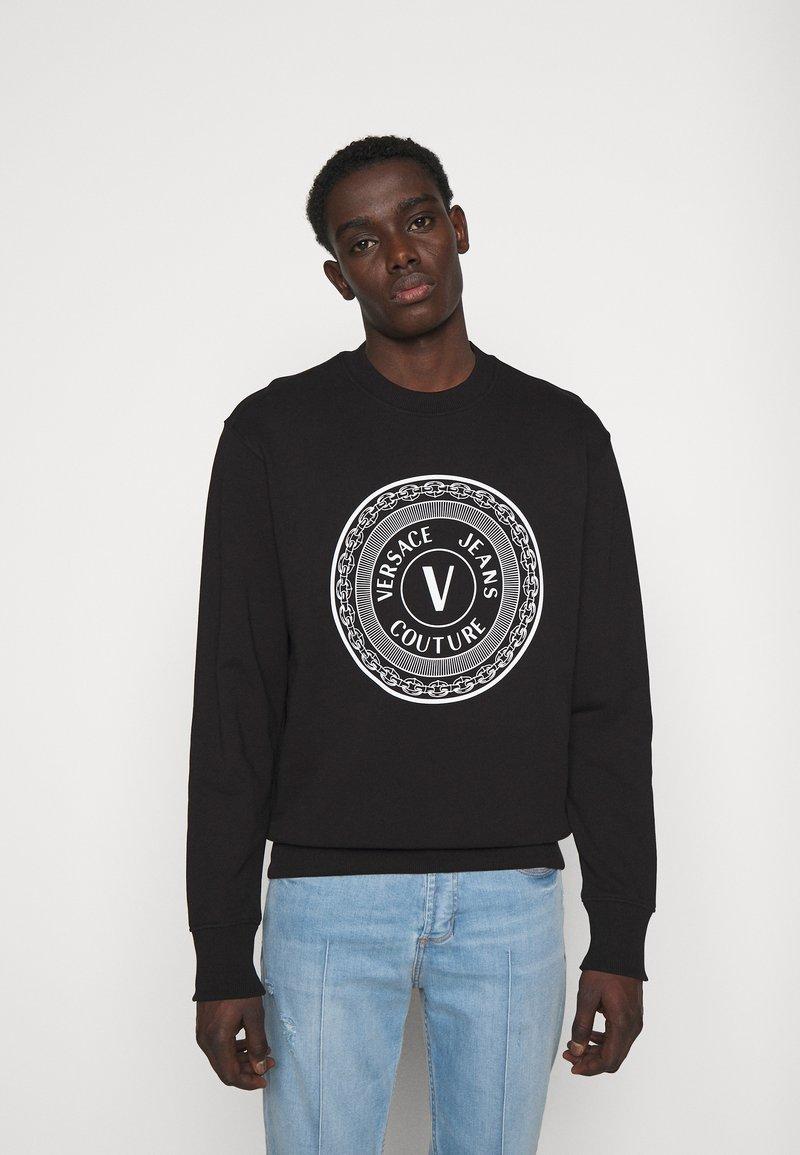 Versace Jeans Couture - FELPA  - Felpa - black