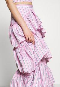 Mossman - THE LALITO SKIRT - Maxi skirt - stripe - 5