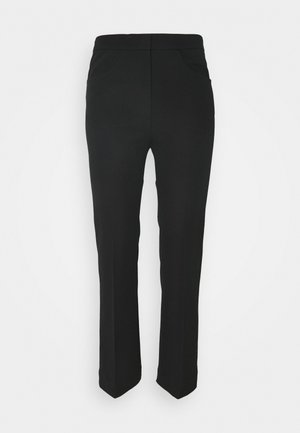 Trouser - Trousers - black dark