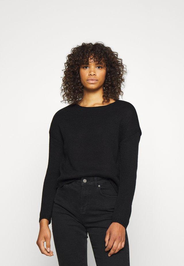ONLLEXI - Pullover - black