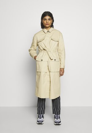SRSILJE LONG COAT - Trenchcoat - warm sand
