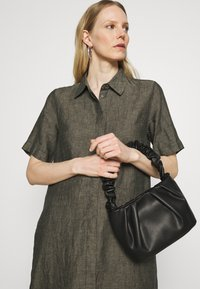 Opus - WELIKA - Shirt dress - black - 3