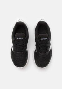 adidas Performance - TENSAUR RUN UNISEX - Neutral running shoes - core black/footwear white - 3