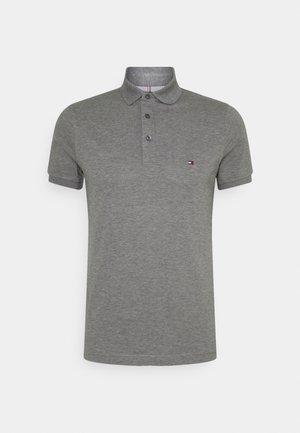 SLIM - Polo - dark grey heather
