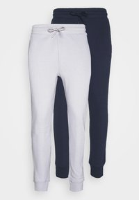 Topman - 2 PACK UNISEX - Tracksuit bottoms - navy - 5