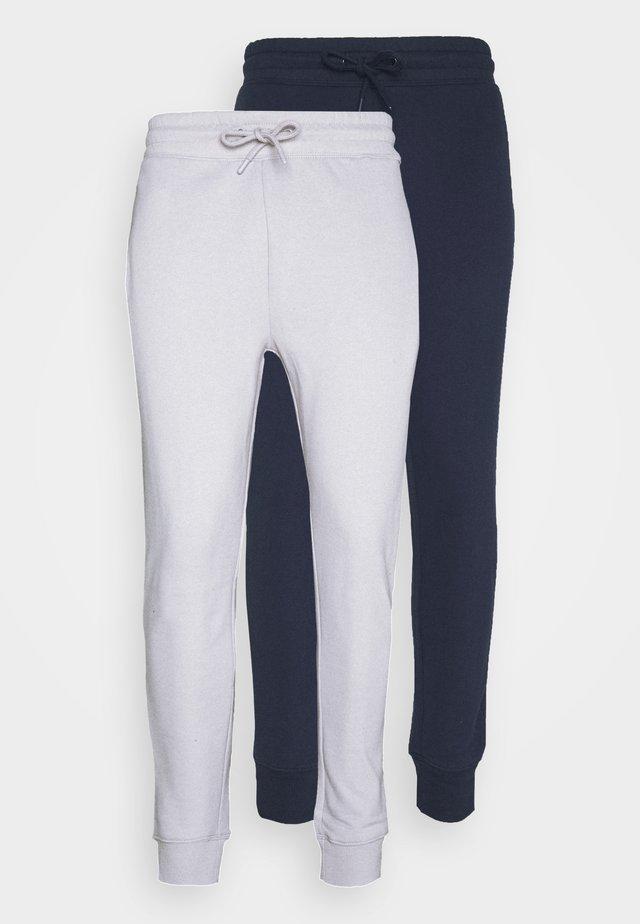 2 PACK UNISEX - Pantaloni sportivi - navy
