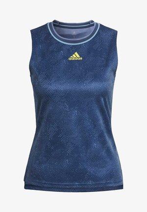 TENNIS PRIMEBLUE PRINTED MATCH SLEEVELESS SHIRT - Toppi - blue