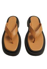 Mango - Pool shoes - middenbruin - 3