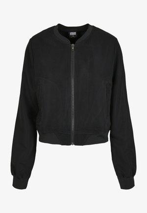 Bomber Jacket - black/black