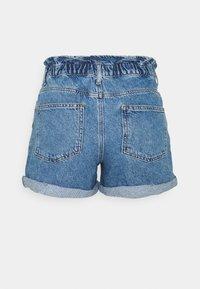 ONLY Tall - ONLCUBA LIFE PAPERBAG  - Denim shorts - medium blue denim - 1