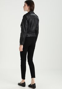 AllSaints - BALFERN BIKER - Leather jacket - black - 2