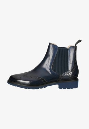Ankle boots - crust navy selina