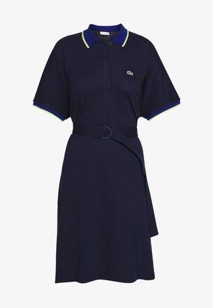 Korte jurk - navy blue/methylene subal