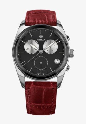 SWISS MADE - Chronograph watch - schwarz red