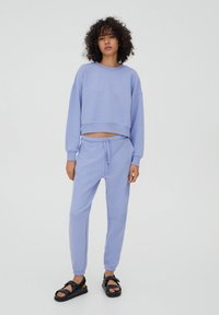 PULL&BEAR - Tracksuit - mottled purple - 1