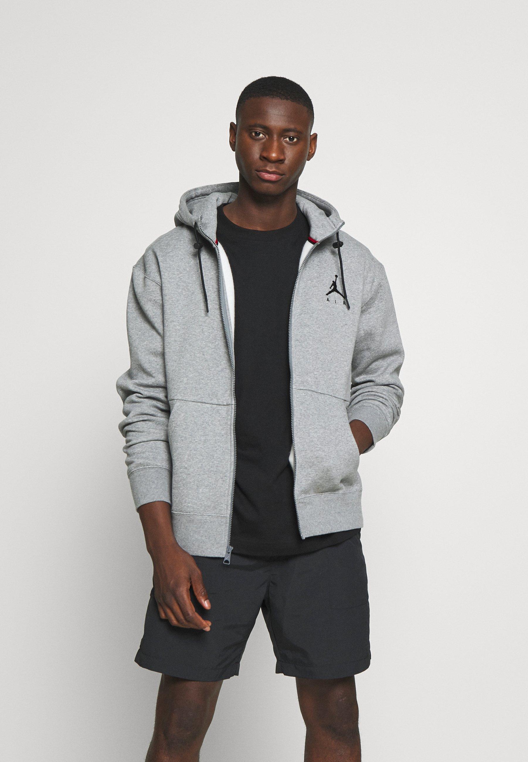 Low Cost Shopping Men's Clothing Jordan JUMPMAN AIR Zip-up hoodie carbon heather/black kQeKlgBjH aVTv2gs1Y