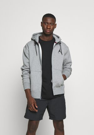 JUMPMAN AIR - Mikina na zip - carbon heather/black