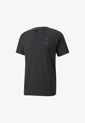 TRAIN FIRST MILE TEE - T-shirt basique - black