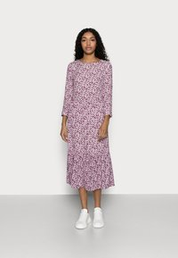 GAP Petite - FLOUNCE  - Day dress - plum - 0