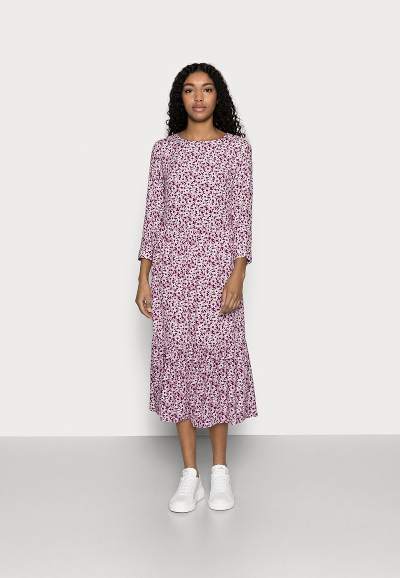 GAP Petite - FLOUNCE  - Day dress - plum
