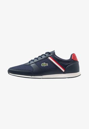 MENERVA SPORT - Sneakersy niskie - navy/red