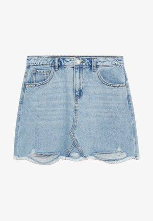 Denimová sukně - lichtblauw