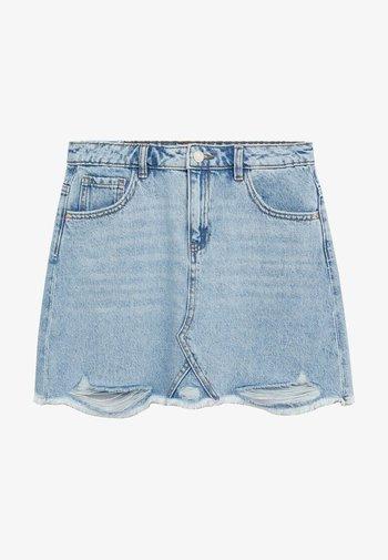 Denim skirt - lichtblauw