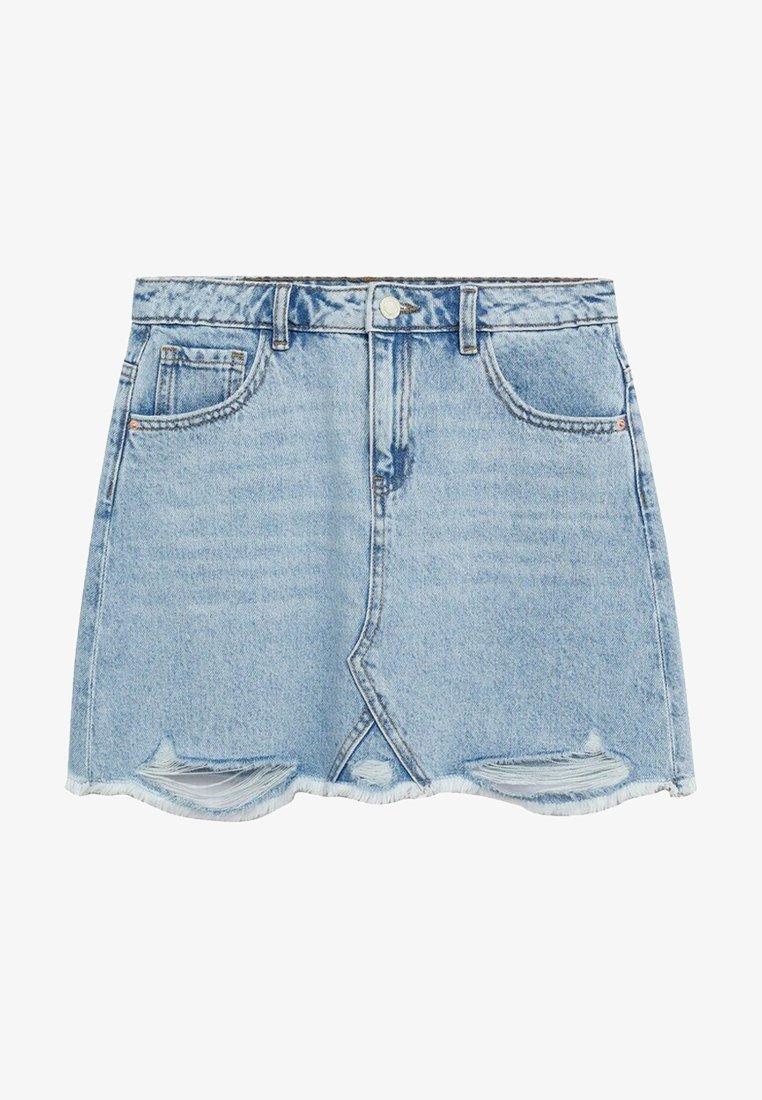 Mango - Denim skirt - lichtblauw