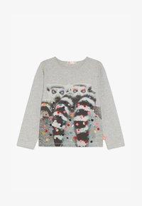Billieblush - Langærmede T-shirts - hellgrau meliert - 3