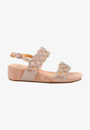 Wedge sandals - pink