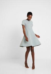 Anna Field - Day dress - silver blue - 1