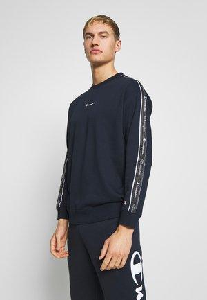 TAPE CREWNECK - Sweatshirt - dark blue