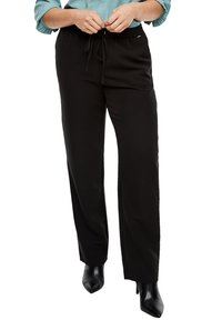 Triangle - REGULAR FIT - Trousers - black - 5