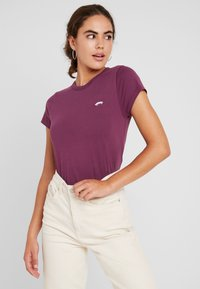Vans - VISTAVIEW - Basic T-shirt - prune - 0